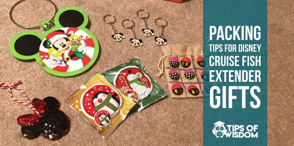Packing Tips for Disney Cruise Fish Extender Gifts