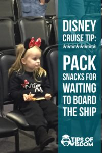 Pack Snacks for Your Disney Cruise