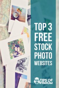 Top 3 Free Stock Photo Websites for creative marketing professionals on a shoestring budget.