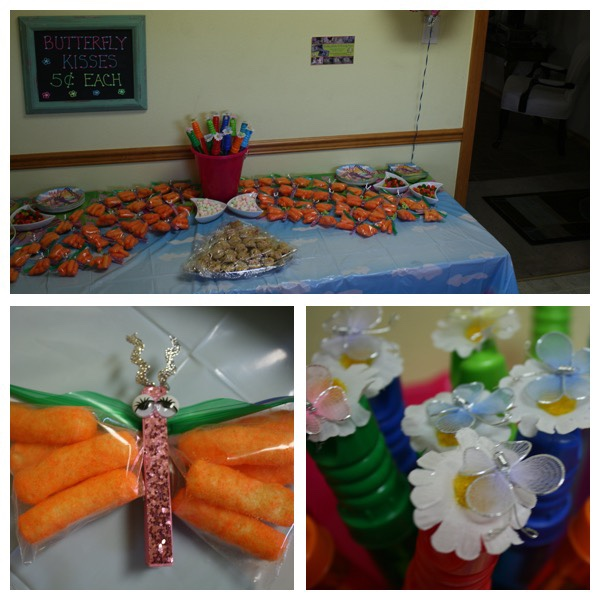 1st birthday party for girls, butterfly birthday party table scape ideas.